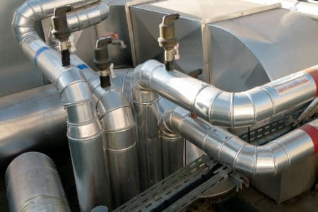 Riscaldamento elettrico per capannoni industriali