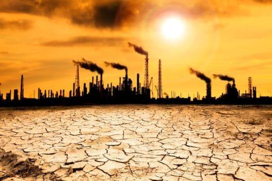 surriscaldamento globale industria